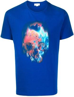 Alexander McQueen Sprayed Skull print T-shirt