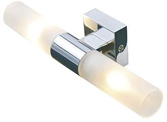 Camilla And Marc sulion Tubes Fixtures for Bathrooms G9, 40 W, Grey Satin, 26 x 8 x 6 cm