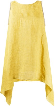 Fabiana Filippi Draped Sides Tank Top
