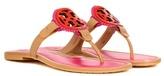 Tory Burch Miller Fringe Leather Sandals