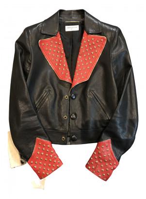 Saint Laurent Black Leather Leather jackets