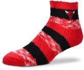 For Bare Feet Women's Chicago Bulls Pro Stripe Sleep Socks
