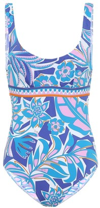 Emilio Pucci Beach Printed swimsuit