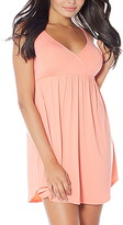 Coral Sweet Cakes Butterknit Crossover Nightgown