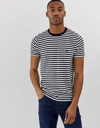 French Connection stripe t-shirt-Navy