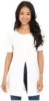 Culture Phit Auster Short Sleeve Top with Front Slit