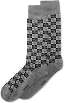 Alfani Men's Box-Stripe Socks, Only at Macy's