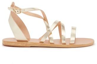 Ancient Greek Sandals Delia Leather Sandals - Gold