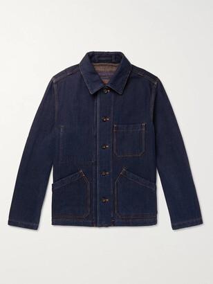 Mr P. Double-Faced Denim Chore Jacket