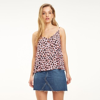 Tommy Hilfiger Pink Leopard Camisole