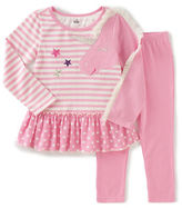Kids Headquarters Baby Girls Two-Piece Tunic and Leggings Set