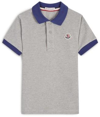 Moncler Kids Cotton Polo Shirt (4-6 Years)