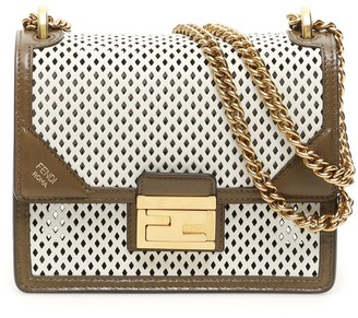 Fendi Kan U Small Chain Shoulder Bag