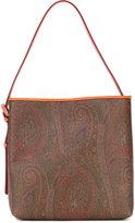 Etro paisley shoulder abg - women - Cotton/Polyurethane - One Size