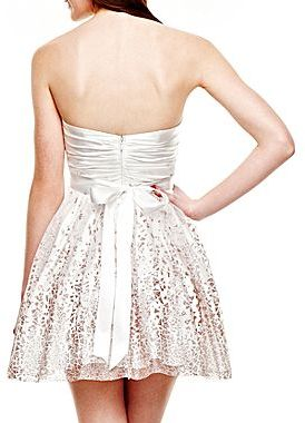 JCPenney Sparkling Mini-Dress