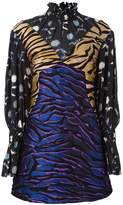 Kenzo 'Runway Tiger Stripes' dress