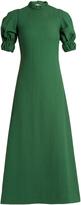 Emilia Wickstead Mimi cut-out back cloqué dress