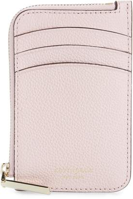Kate Spade Margaux Leather Zip Card Holder