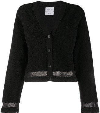 Barrie Terrycloth Cropped Cardigan