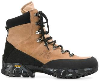 Premiata Midtreck leather boots