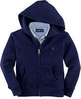 Ralph Lauren Boys 2-7 Long Sleeve Fleece Hoodie