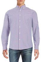 Black Brown 1826 Checkered Laundered Sportshirt