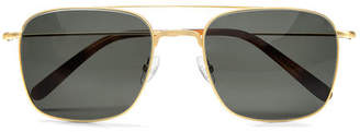 Aspinal of London Aerodrome Aviator Sunglasses Case Set