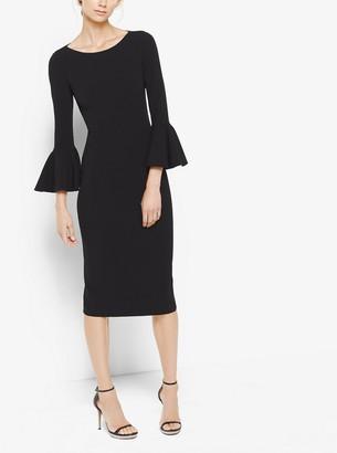 Michael Kors Bell-Cuff Sheath Dress
