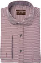 Tasso Elba Men's Regular Fit Non-Iron French Cuff Dress Shirt, Created for Macy's