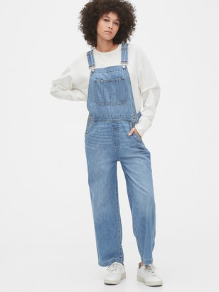Gap Wide-Leg Denim Overalls