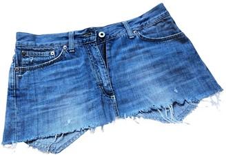 Dondup Blue Denim - Jeans Skirt for Women