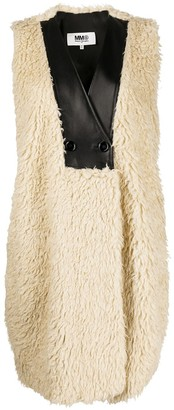 MM6 MAISON MARGIELA Textured Sleeveless Coat
