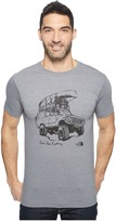 The North Face Short Sleeve Off Road Tri-Blend Tee ) Men's T Shirt
