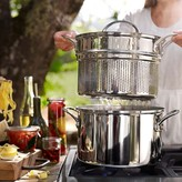 Williams-Sonoma Stainless-Steel Multipot with Pasta Insert, 8 Qt.