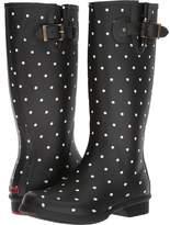 Chooka Dot Blanc Tall Boot Women's Rain Boots