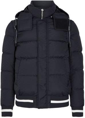 Emporio Armani All-Over Eagle Print Down Jacket