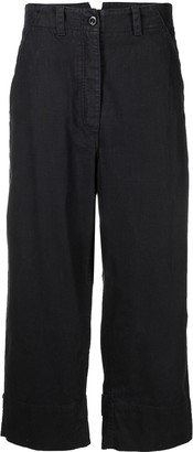 Margaret Howell Cropped Wide-Leg Trousers