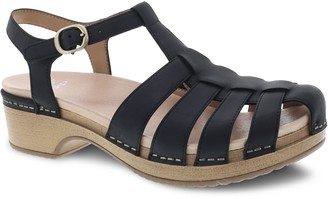 Dansko Adjustable Leather Sandals - Brie