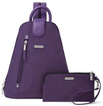 Baggallini New Classic Metro Backpack with RFID Phone Wristlet