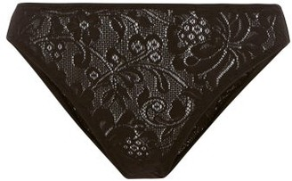 Araks Tris Stretch-lace Briefs - Womens - Black