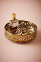 BHLDN Gilded Mirror Tray