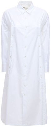 Noir Kei Ninomiya Cotton Poplin Shirt Dress