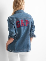 Gap Oversize logo icon jacket