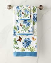 Lenox Blue Flower Garden Bath Towel