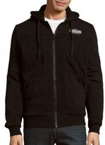 Buffalo David Bitton Fundell Quilted Long-Sleeve Hoodie