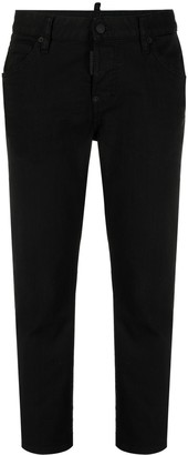 DSQUARED2 Cropped Low-Rise Jeans