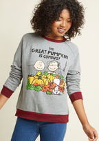 ModCloth Gourd Out of My Mind Sweatshirt in S