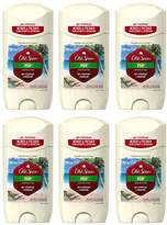 Old Spice Fresh Collection Invisible Solid Fiji Scent Men's Antiperspirant & Deodorant 2.6 Ounce (Pack of 6)