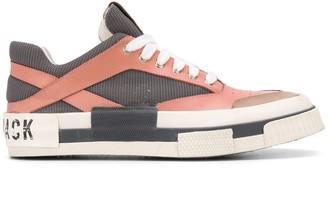 Hide&Jack Colour-Block Low-Top Sneakers