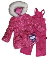 Hello Kitty Girls' 2-Piece Snowsuit
